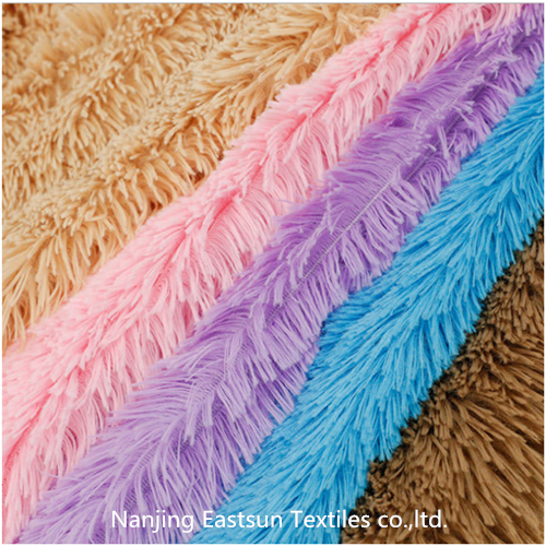 warp knit fur  Polyboa Pv Plush